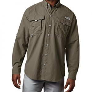Columbia Men's PFG Bahama II Long Sleeve Breathable Fishing Shirt