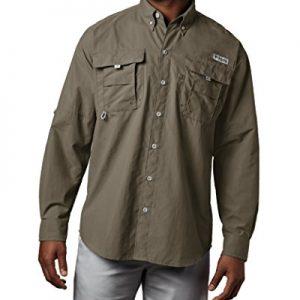 Columbia Men's PFG Bahama II Long Sleeve Breathable Fishing Shirt