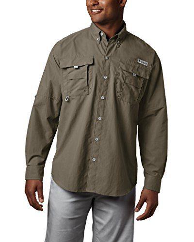 4fdb1efbeaa Columbia Men's PFG Bahama II Long Sleeve Breathable Fishing Shirt ...