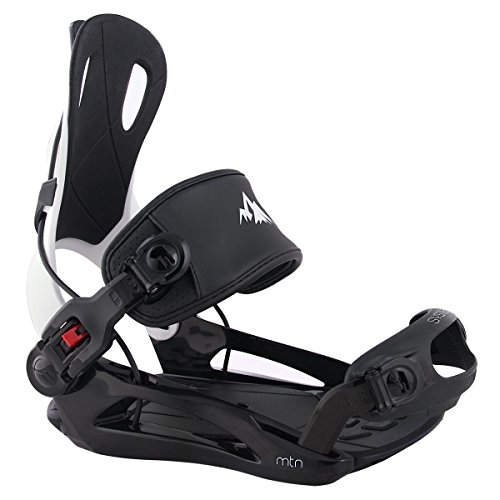 System MTN Men's 2018 Rear Entry Step In Style Snowboard Bindings