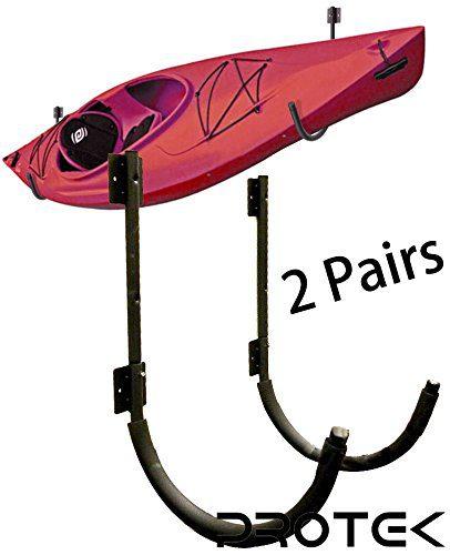 Protek 2 Pair of Indoor Outdoor 150 Lbs Kayak Canoe SUP Board Paddleboard