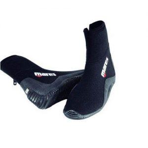 Mares 3mm Classic Medium Sole Zipper Dive Boots