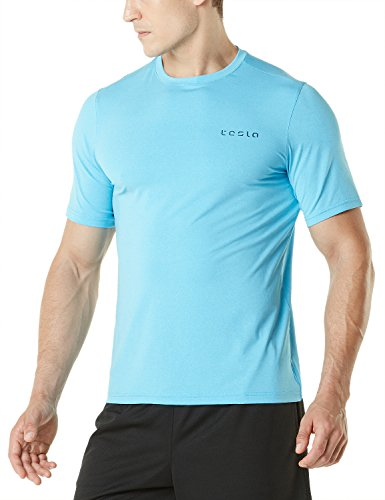 Tesla Men's HyperDri Short Sleeve T-Shirt Athletic Cool Running Top MTS08/MTS06/MTS04/MTS03/MTS07/WTS05