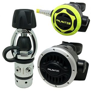 Palantic Scuba Diving Dive AS101 Yoke Regulator and Octopus Combo