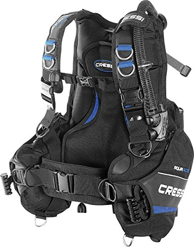 Cressi Aquaride Pro BCD, Fully Accessorized Scuba Diving Buoyancy Compensator