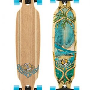 Sector 9 Bamboo Lookout Drop-Thru Complete Longboard Skateboard - 9.62x41.12/31 wheelbase