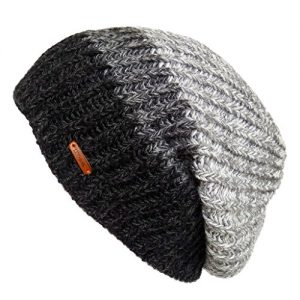 LETHMIK Unique Winter Skull Beanie Mix Knit Slouchy Hat Ski Cap for Men & Women