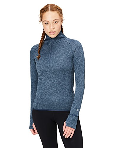 Core 10 Women's Be Warm Fitted Thermal Fitted Run Half-Zip (XS-XL, Plus Size 1X-3X)