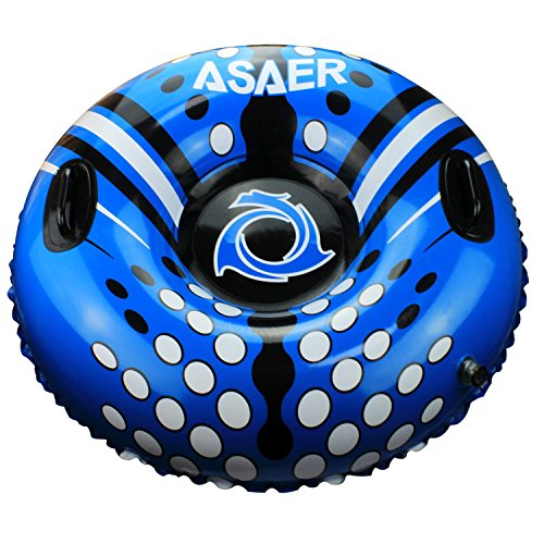 Snow Tube - Air Tube 39 Inch Inflatable Snow/Sled with Rapid Valves
