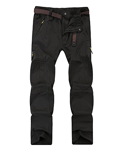 Women's Anytime Outdoor Lightweight Zip Off Quick Drying Hiking Fishing Water-Resistant Inseam Convertible Pants #4409