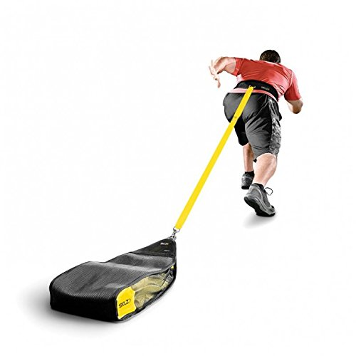 SKLZ Speedsac- Adjustable Weight Sled Trainer for Sprinters (10-30 lbs).