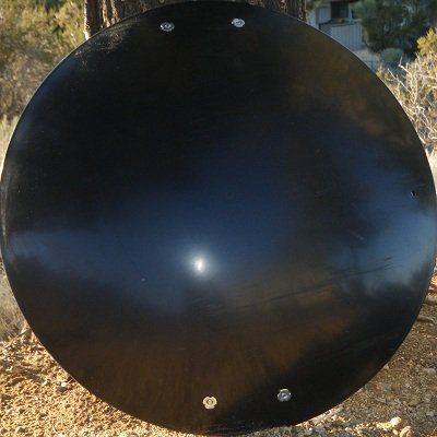 Snow Sled Saucer Heavy Duty (Black)