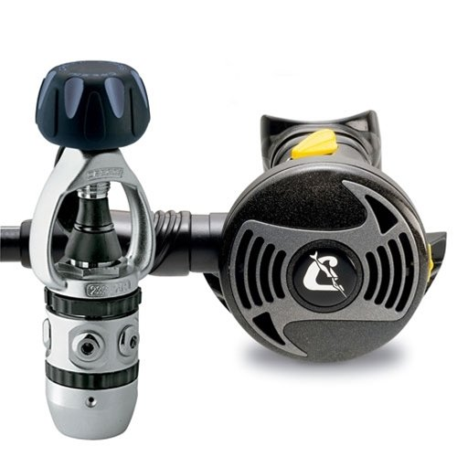 Cressi AC2/XS2, complete regulator for scuba diving, made in Italy