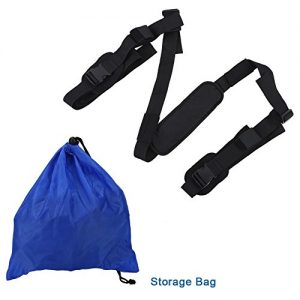 SUP Paddleboard Carrier Sling Strap Adjustable Surfboard Carrier with Shoulder Pad