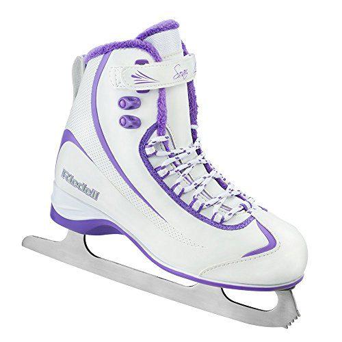 Riedell 625 Soar / Women's and Men's Beginner/Soft Figure Ice Skates / Color: White or Gray