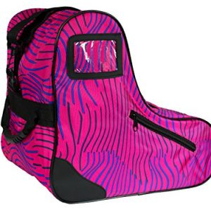 Epic Skates Epic Pink Zebra Premium Skate Bag, Pink/Purple, One Size