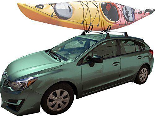 Kayak Roof Rack For Cars >> Oxgord Universal Kayak Roof Rack Canoe Carrier Top J Bar Mount For Suv Truck Van Car