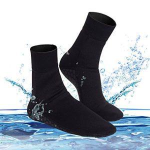 Junlan Water Shoes Beach Socks Neoprene Diving Boots Scuba Snorkel Booties