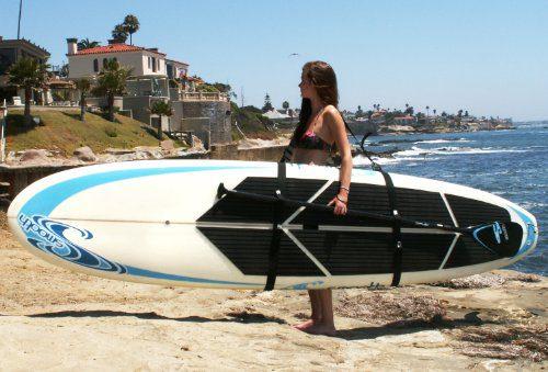 Big Board Schlepper Stand Up Paddleboard Easy Carry Strap SUP Shoulder Sling Holder Board Carrier