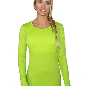 WoolX Remi - Women's Long Sleeve Tee - Lightweight, Moisture Wicking - Merino Wool Top