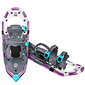 Wildhorn Sawtooth Snowshoes For Men and Women. Fully Adjustable Bindings