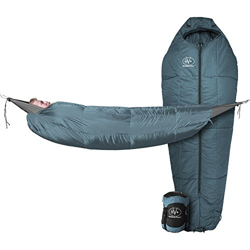 Outdoor Vitals StormLight 30 Degree MummyPod Sleeping Bag for Hammock or Ground Camping
