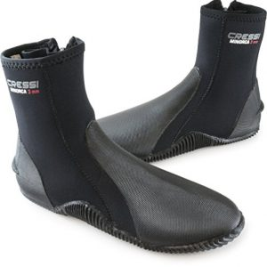 Tall Neoprene Water Sport Boots with Sole | MINORCA made by Cressi: quality since 1946
