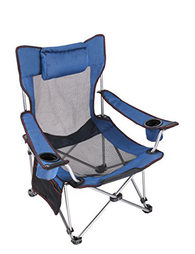 RORAIMA Light Weight Backpacking Reclining/Lounging Camping Folding Chair with Headrest