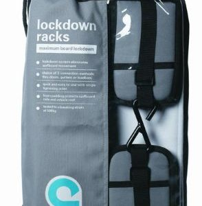 SUP Soft Rack LOCKDOWN SUP Racks - Premium Stand Up Paddle Board Car Racks by Curve (set of 2)