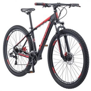 "Schwinn Bonafied 29"" Wheel Mountain Bike, 17"" Frame Size, Matte Black"