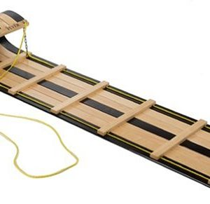 Flexible Flyer 6 Foot Classic Wooden Toboggan
