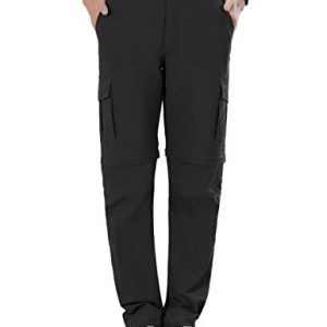 Nonwe Women's Outdoor Water-resistant Quick Dry Convertible Cargo Pants