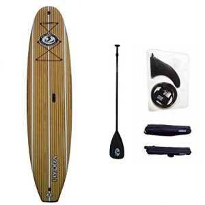 "Keeper Sports CBC 10'6"" Classic Foam Paddle Board SUP Package: Adjustable Paddle, SUP Leash"