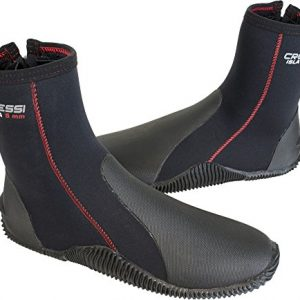 Cressi Tall Neoprene Boots for Snorkeling, Scuba Diving, Canyoning | Isla: designed in Italy