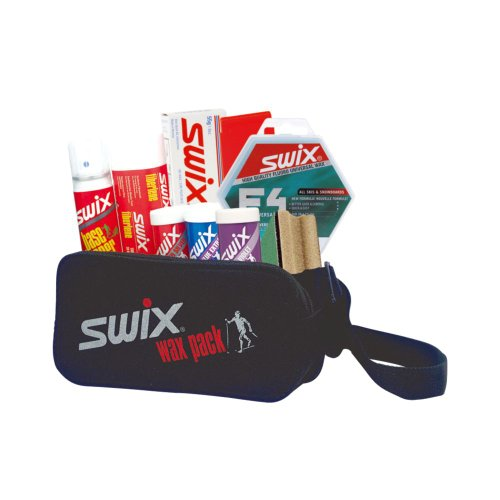 Swix Cross Country Wax Kit, 9-Piece, 12 x 8-Inch