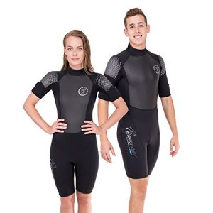 Wetsuit with Stretch Panels for Men and Women