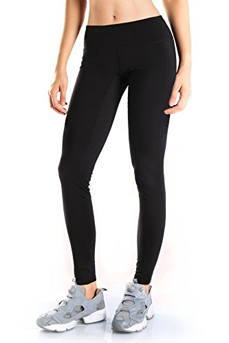 Women's Water Resistant Fleece Lined Thermal Tights