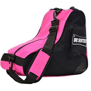 Epic Skates Premium Skate Bag, Black/Pink