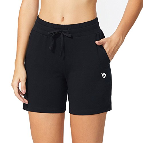 Baleaf Women's Activewear Yoga Lounge Shorts with Pockets