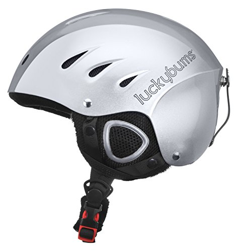 Lucky Bums Snow Sport Helmet with Fleece Liner