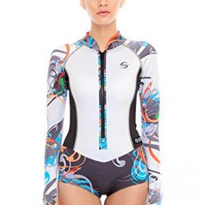Platinum Sun 2mm Lycra Shorty Wetsuit Women