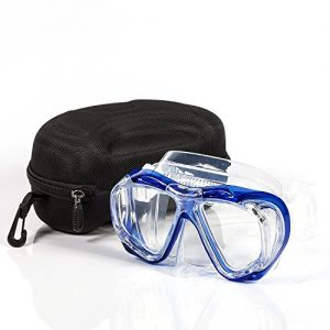 Calypso Adult Diving Mask - Scuba Mask - Freediving - Super Soft Silicone for Ultimate Comfort