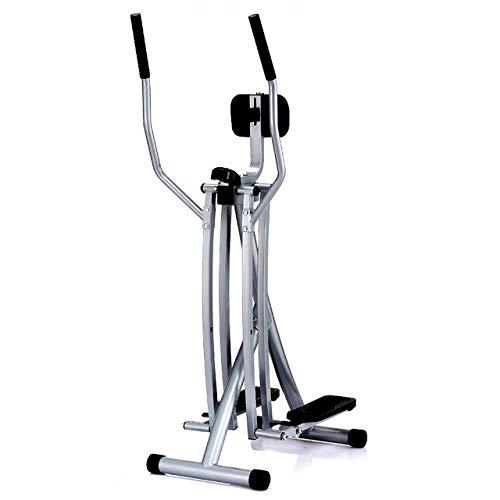 Sunny Health & Fitness SF-E902 Air Walk Trainer Elliptical Machine Glider w/LCD Monitor