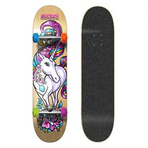 SkateXS Beginner Unicorn Girls Skateboard