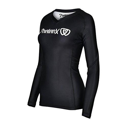 ong Sleeve Competition Grade MMA Rashguard Shirt for Women