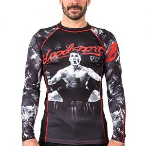 Bloodsport Men's Fusion Fight Gear Compression Rash Guard