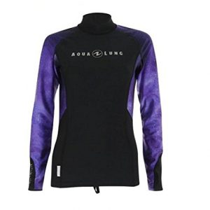 Aqua Lung Women's Rashguard Long Sleeves - Galaxy Twilight