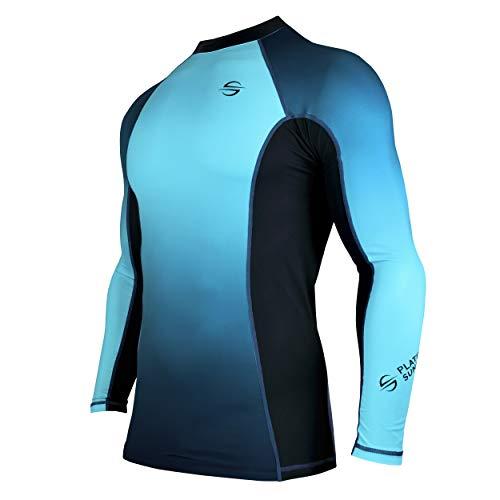 Platinum Sun Rash Guard Long Sleeve surf Shirt