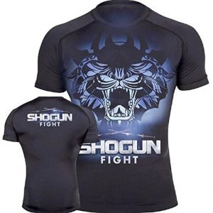 MMA Premium Jiu Jitsu Fighting Grappling Compression Shirt