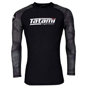 Green Camo Long Sleeve MMA BJJ Rash Guard